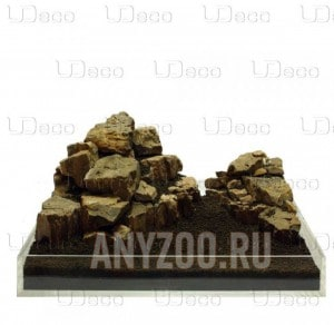 """Купить UDeco Fossilized Wood Stone MIX SET Натуральный камень """"Окаменелое дерево"""" для оформления аквариумов"""