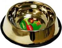 фото Триол Миска металлическая для собак на резинке