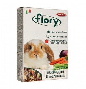 Купить Fiory Karaote Фиори корм для кроликов