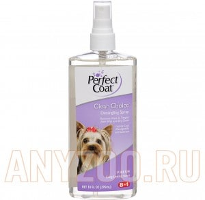 8 in1 Pefect Coat Clear Choice Detangling Spray