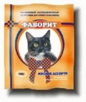 Фаворит Комбикорм для кошек Мясное ассорти