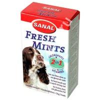 фото Sanal Fresh mints Санал витамины для собак (группа В) для свежего дыхания