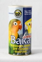 Вака Люкс Основной корм для средних попугаев