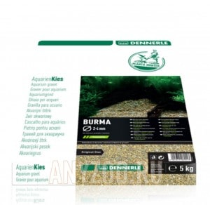 Купить Dennerle Nature Gravel PlantaHunter Burma  Натуральный гравий для аквариума, 2-4 мм