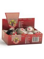 """фото I.P.T.S. 440420 Игрушка для кошек """"Мышь-погремушка"""" 5см"""