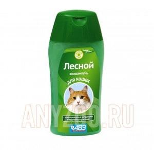 АВЗ Лесной Шампунь для кошек на травах увлажняющий, от сухости кожи