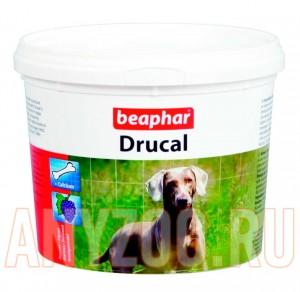 """фото Beaphar  """"Dru Cal"""" Минеральная смесь для укрепления скелета и мыщц для собак, кошек, грызунов"""