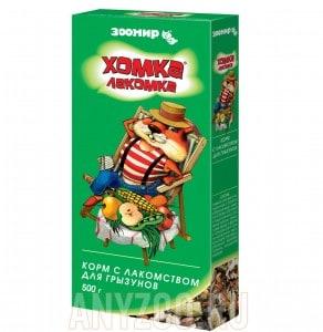 Зоомир Хомка-Лакомка основной корм для грызунов