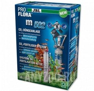 фото JBL ProFlora m502 Cистема-CO2 с пополняемым баллоном 500 г для аквариумов до 600 л