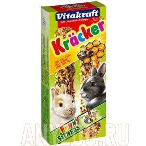 Vitakraft Витакрафт Крекеры для кроликов медовые