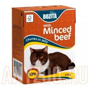 Купить Bozita Tetra Pak кон.д/кошек Кусочки в соусе Говядина