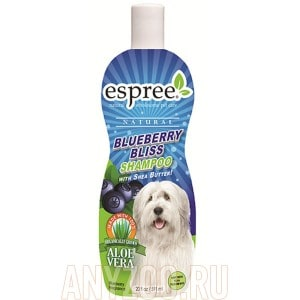 фото Espree Blueberry Shampoo Эспри Черника шампунь для собак и кошек