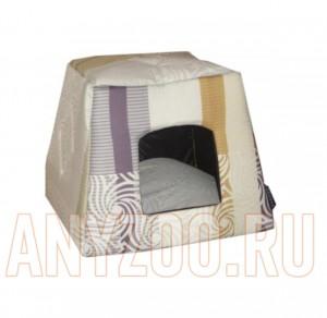 Догман лежак-домик для собак и кошек Трапеция бязь