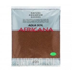 """фото ADA Aqua Soil Powder Africana Питательный субстрат """"Африкана"""" в форме мелких гранул (порошка)"""