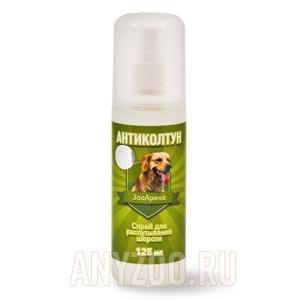 Пчелодар антиколтун спрей для распутывания шерсти животных