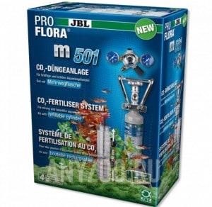 фото JBL ProFlora m501 Cистема-CO2 с пополняемым баллоном 500 г для аквариумов до 400 л