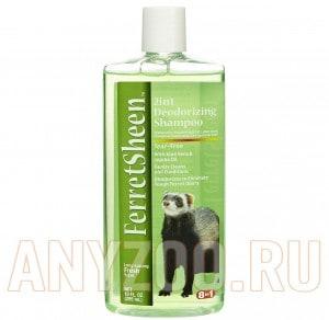 Купить 8 in 1 Shampoo Ferretsheen Deodorizing Шампунь для хорьков дезодорирующий