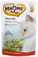 Мнямс Косидо по-Мадридски пауч для кошек, говядина с морковью