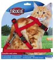 фото Trixie  41960 Шлейка с поводком для крупных кошек 34-57см/13мм