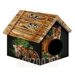 фото PerseiLine Персилайн Дизайн домик для животных Бенгальский кот