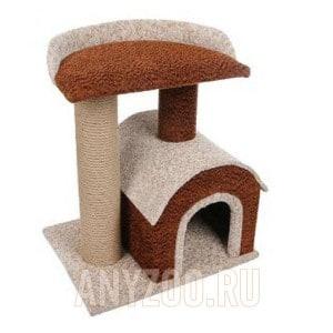 фото PerseiLine Персилайн Камея-6 игровой комплекс для кошек домик и две площадки
