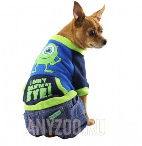фото Disney Дисней толстовка с джинсами для собак Monsters