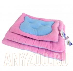 Бобровый дворик Лежак-подушка Мяу-Мяу для кошек и собак
