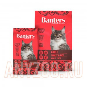 Banters Cat Adult Turkey&Rice