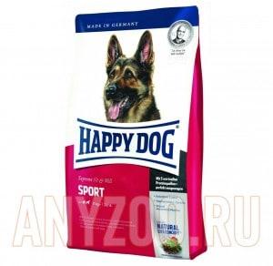 Купить Happy Dog Sport Хэппи Дог Спорт Сухой корм для взрослых спортивных и рабочих собак