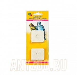 Зоомир минеральный камень для птиц с пробиотиком
