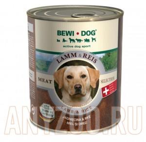 фото Bewi Dog Консервы для взрослых собак Ягненок и Рис
