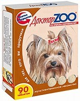 Доктор Зоо витамины для собак со вкусом Копченостей