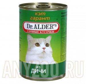 Кэт Гарант Cat Garant (сочные кусочки в соусе дичь)