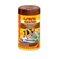 фото Sera VipaChips Сера основной корм для донных рыб и ракообразных