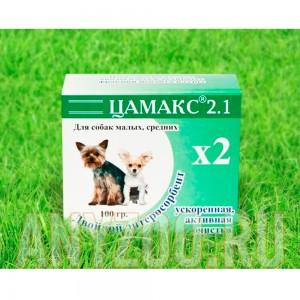 Цамакс двойной энтеросорбент для собак мелких и средних пород