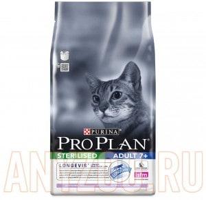 фото Pro Plan Vital Age 7+ Про План сухой корм для кошек старше 7 лет Курица