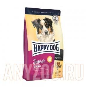 Купить Happy Dog Junior Original  Хэппи Дог Юниор Оригинал Корм для щенков всех пород от 7 месяцев