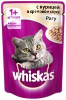 фото Whiskas  Пауч для кошек Рагу Курица в кремовом соусе