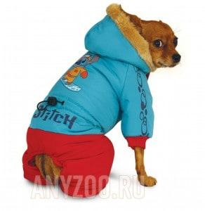 фото Disney Дисней комбинезон для собак зимний Stitch