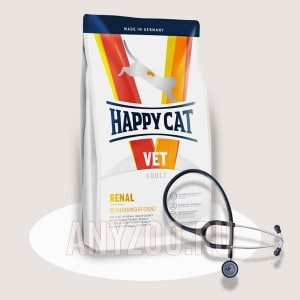 Купить Happy Cat Renal  Хэппи Кэт Диета сухой корм для кошек с заболеваниями почек