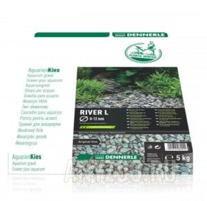 Купить Dennerle Nature Gravel PlantaHunter River  Натуральный гравий для аквариума, 5кг