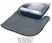 фото Trixiе 40232 коврик д/кошачьего туалета серый, полиэстер 50*50,5см