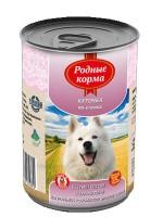 фото Родные корма Консервы для собак Курочка по-елецки