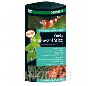 фото Dennerle Crusta Brennessel Stixx Витаминизированная кормовая добавка  для креветок, 30 г
