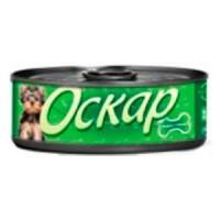 Оскар консервы для собак с сердцем