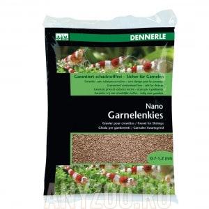 Купить Dennerle Nano Garnelenkies, цвет Borneo brown.Грунт для мини-аквариумов,  фракция 0,7-1,2 мм.