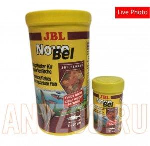 фото JBL NovoBel Основной корм в форме хлопьев для всех аквариумных рыб