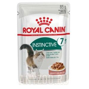Купить Royal Canin Instinctive +7 Влажный корм для кошек старше 7 лет в желе