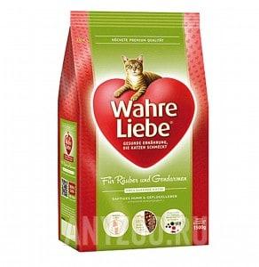Wahre Liebe freilaufende Варе Либе сухой корм для активных,гуляющих на улице кошек