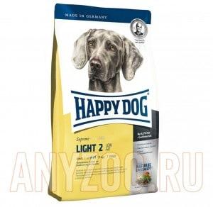 фото Happy Dog Supreme Adult Light 2  Хэппи Дог Лайт 2 Сухой корм для взрослых собак, склонных к полноте